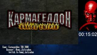 Speedrun Carmageddon TDR 2000 Any% [2:32:21]