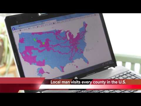 Man visits every county in the United States -- all 3,142