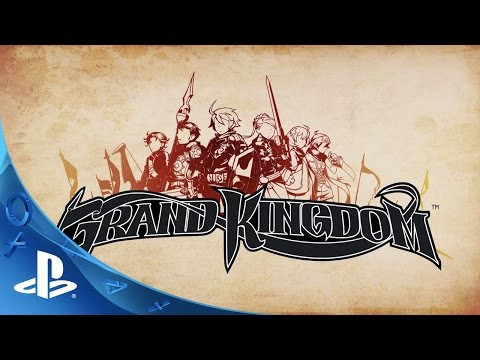 Grand Kingdom - Introduction Trailer | PS4, PS Vita