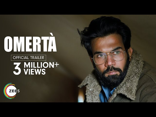 Omertà Official Trailer | Rajkummar Rao | Streaming Now On ZEE5