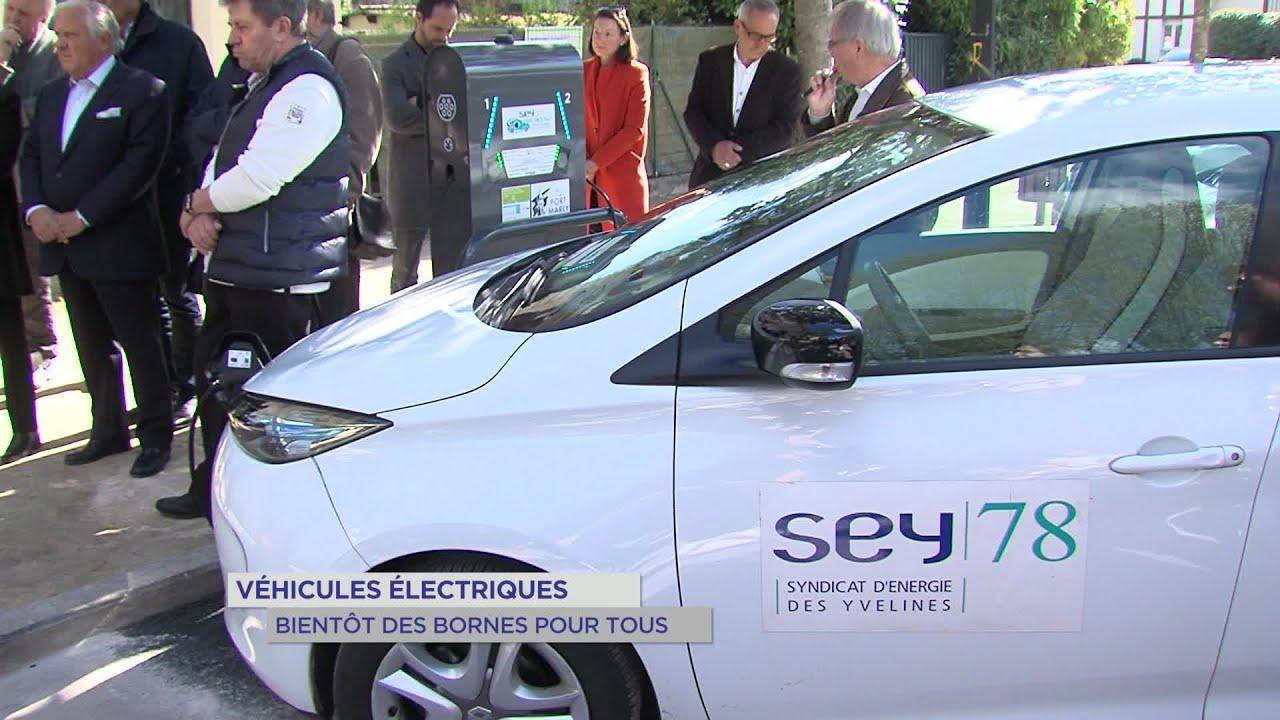 Yvelines | Véhicules électriques : bientôt des bornes pour tous