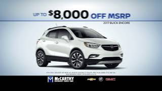 $8,000 in Savings | McCarthy Chevy Buick GMC