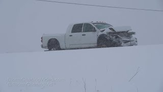 Saint Cloud, MN Winter Storm Travel Nightmare - 2/20/2019