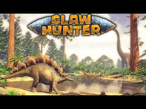 Claw Hunter - PRE-ALPHA FIRST LOOK AT NEW DINOSAUR GAME, CLIMBING TREES, RIDING SAVAGE REX Gameplay