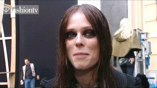 Model Talks - Coco Rocha - Exclusive Interview - Fall 2011 | FashionTV - FTV