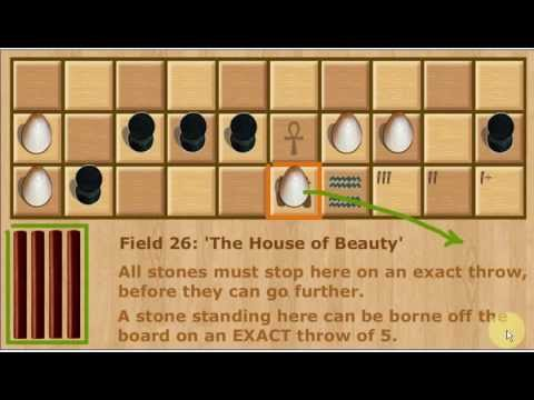 Senet - How to play this ancient game