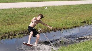 Urban Surfing in Public!