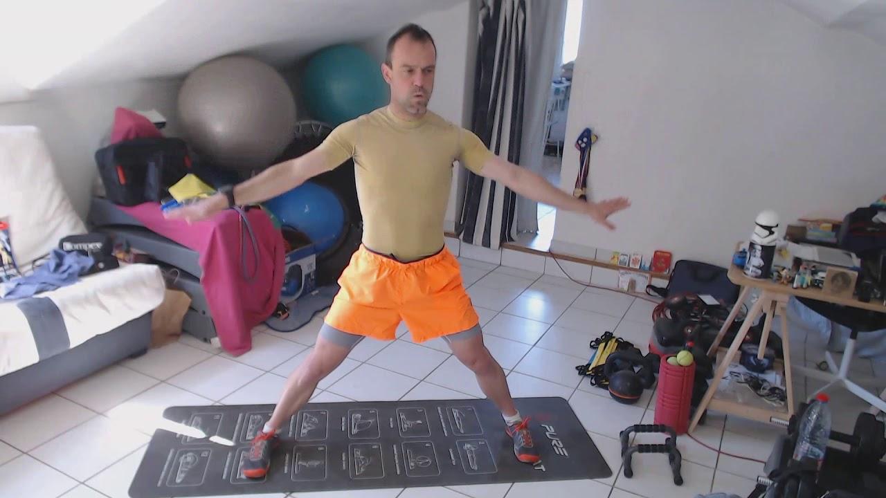 """Séance """"Stretching renfo confinement"""""""