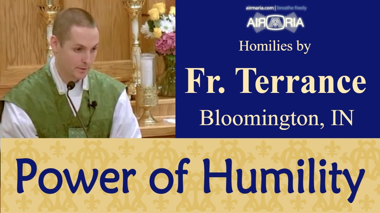 The Example of Moses - Aug 03 - Homily - Fr Terrance