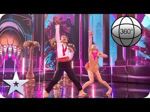 BGT 360° Libby and Charlie tear up the dancefloor!   Britain's Got Talent 2019