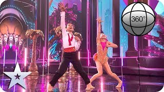BGT 360° Libby and Charlie tear up the dancefloor! | Britain's Got Talent 2019