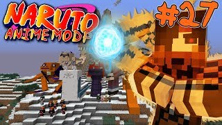 THE HUNT FOR A SANNIN! || Naruto Anime Modpack Episode 27 (Minecraft Naruto Anime Mod)
