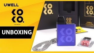 UWELL KOKO Caliburn ⚔️Pod System - Factory Unboxing and First Look 👀