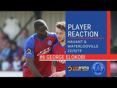 ShotsTV - George Elokobi Reacts To Havant Victory