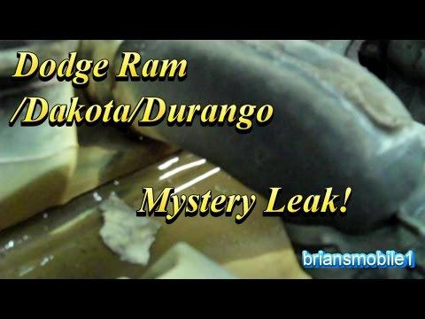 Dodge 5.2L 5.9L Mystery Coolant Leak