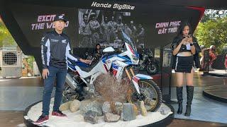 Trên tay Honda Africa Twin 1100 Adventure Sports 2020 tại Việt Nam, đối thủ nặng ký của BMW R 1250GS