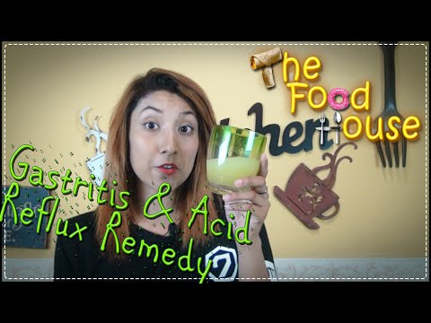 Gastritis and GERD (Acid Reflux); Easy Remedy – The Food House