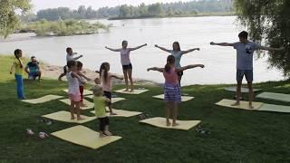 зарядка детская видео для детей   утренняя гимнастика