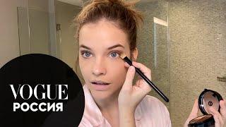Барбара Палвин показывает как увеличить глаза при помощи макияжа Vogue Россия