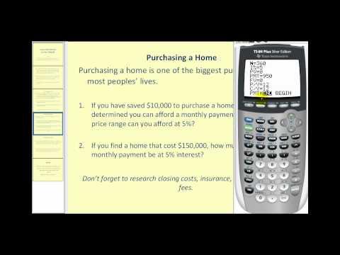 loan-information-using-the-ti83/84