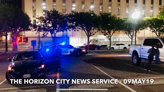 HCNS BROADCAST # 97  (22MAY19) - EL PASO TX POLICE DEPT TRAFFIC STOP - DOWNTOWN ELPTX.  ⚖️🇨🇱🇺🇸🚔
