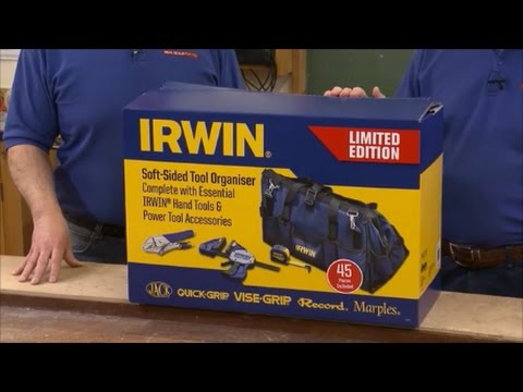Irwin 45 Piece Professional Toolkit In A Heavy Duty Work Bag
