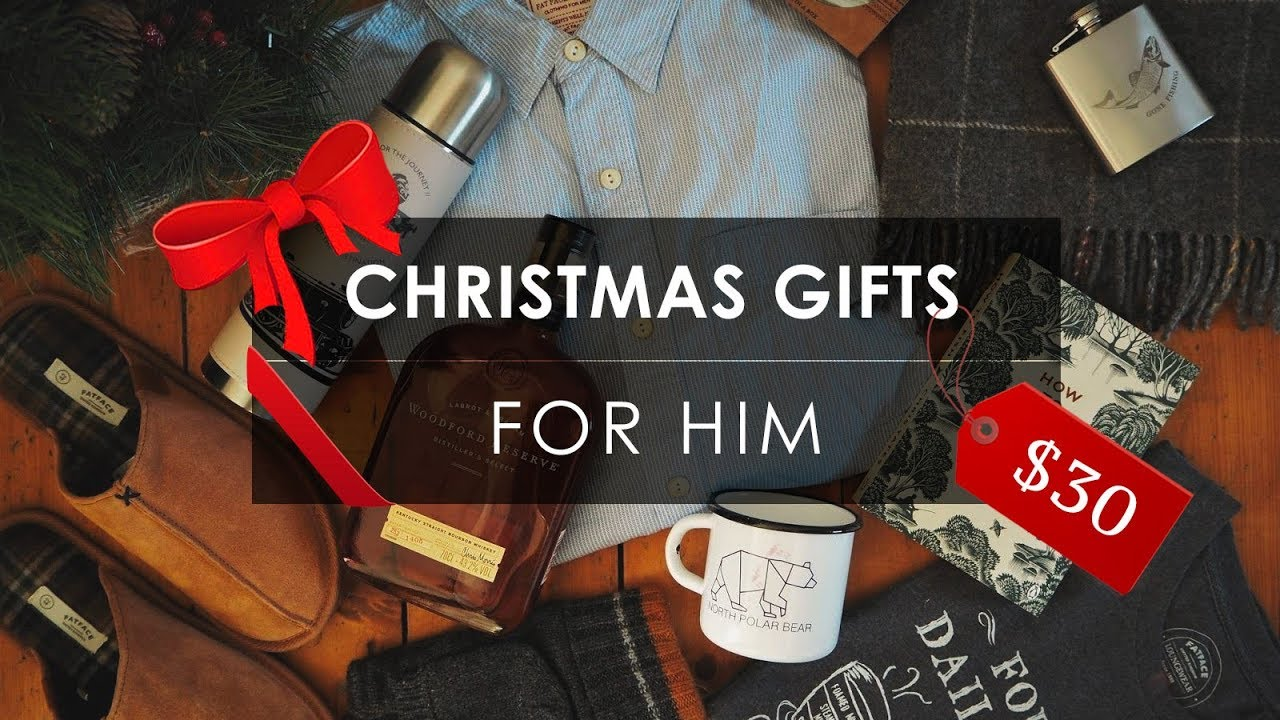 7 best christmas gifts for him under 30