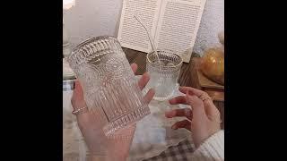 크리스탈 유리컵 커피 맥주 아이스아메리카노 위스키 잔 …