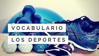 Vocabulario: Los deportes   La página del español