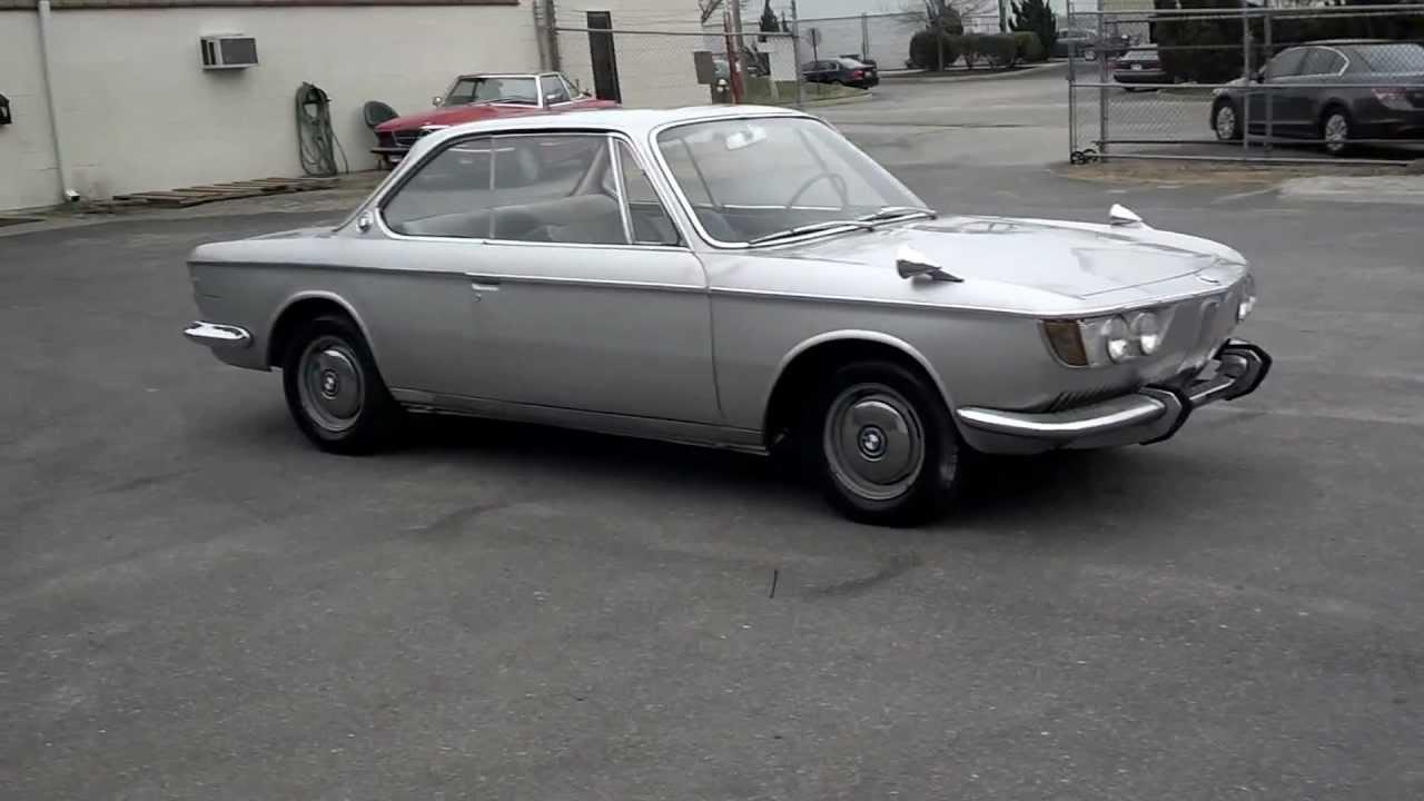 1966 BMW 2000CS 360 VIEW. SOLD...