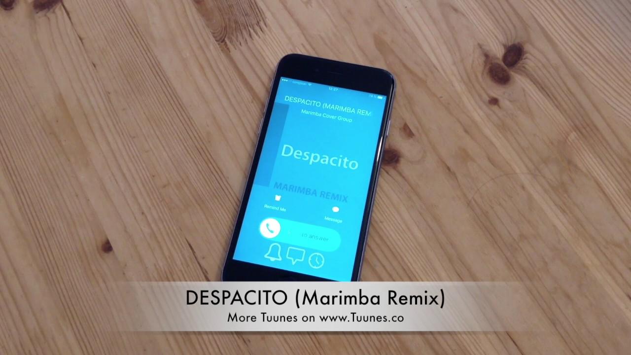 telecharger sonnerie iphone despacito remix