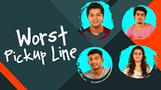 Worst Pickup Line Used On Girls Ever | Hilarious Answers | #Jinnions
