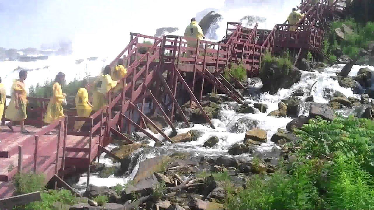 Cave Of The Winds Niagara Falls Ny Youtube
