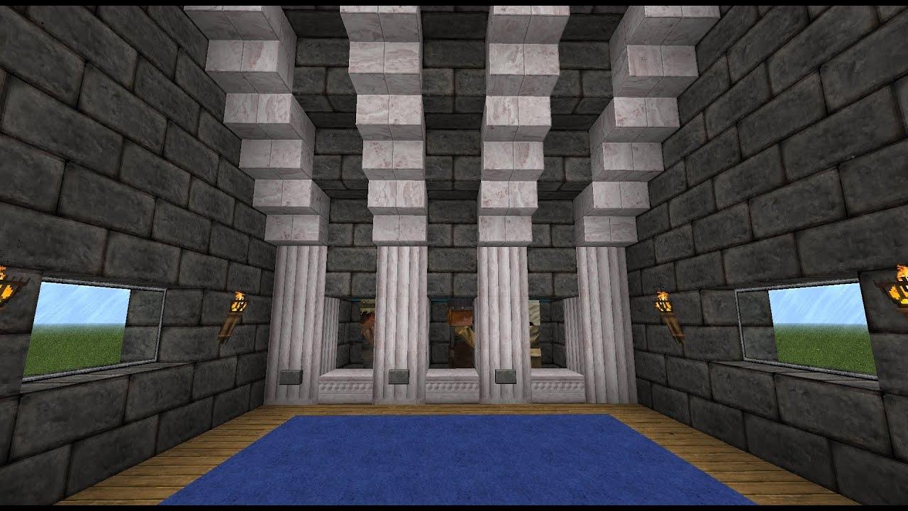 Minecraft Villager Trading Cell Bay Tutorial Youtube