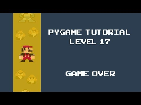 Pygame Tutorial - 17 -  Game over - Space Invaders thumbnail