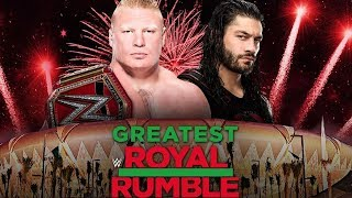 WWE Greatest Royal Rumble 2018 Live Reactions