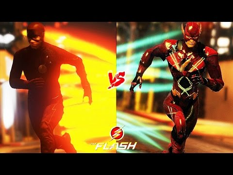 Justice League Movie Flash VS. TV Series Flash ! Who