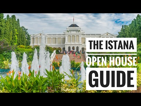 The Istana Singapore :  Guide to Open House
