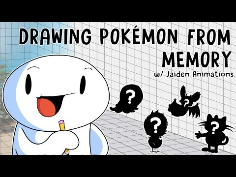Drawing Pokmon From Memory w/ Jaiden Animations
