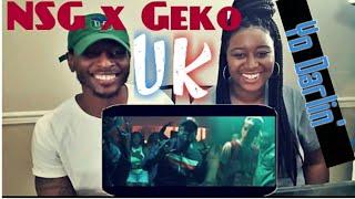 NSG ft. Geko - Yo Darlin' (Official Reaction Video)