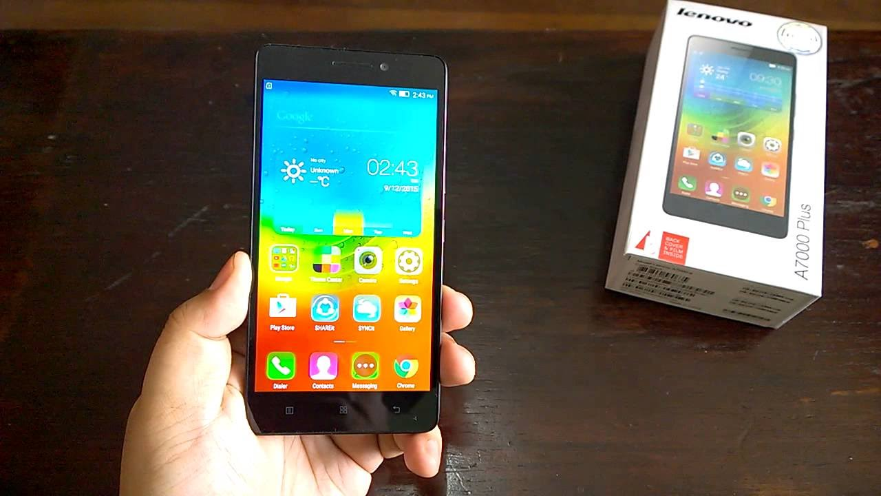 We Unbox The Upcoming Lenovo A7000 Plus