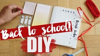DIY | Back to school | Pomůcky do školy!