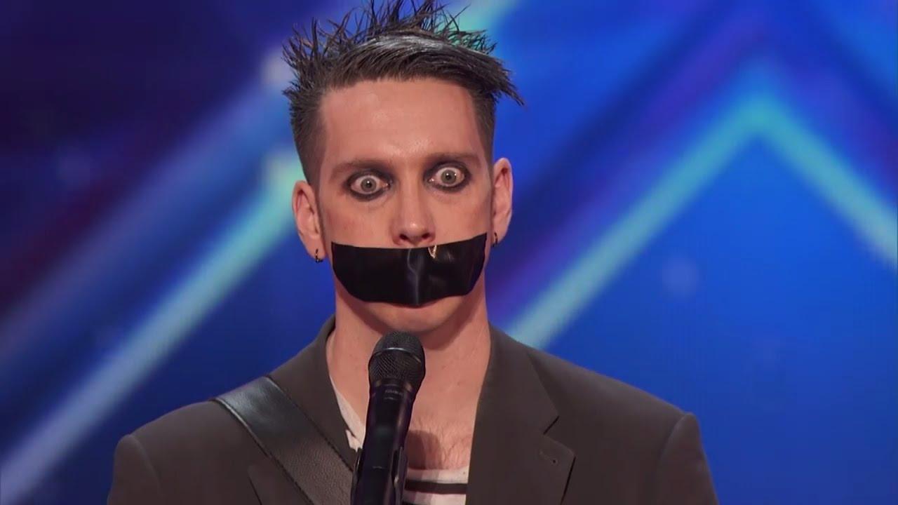 Britain039s got talents facial cumshots all over