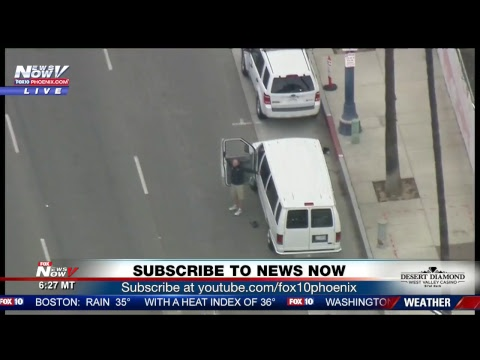 BREAKING: Police standoff with man in Long Beach, CA (FNN)