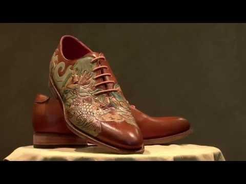 Veritas - Carving Shoes - Koi Fish