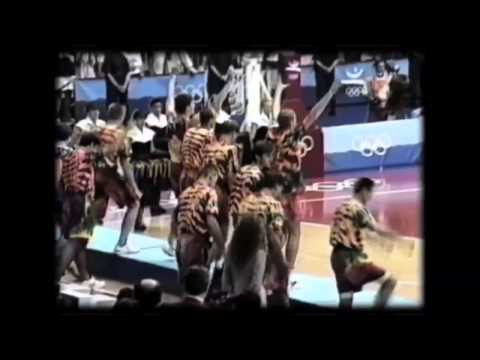 Lithuania Basketball in Grateful Dead clothes at 1992 Olympics