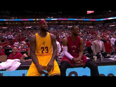Thumbnail: Dwyane Wade Duels with LeBron James in Return to Miami