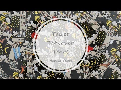 開箱  高塔塔羅牌 • Tower Takeover Tarot // Nanna Tarot