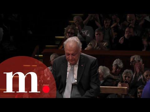 """Zubin Mehta's last 3 minutes conducting the IPO - Mahler: Symphony No. 2, """"Resurrection"""""""