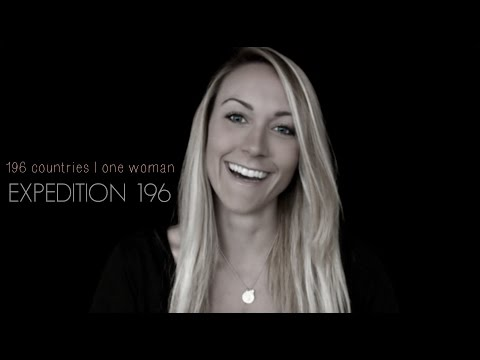 Expedition 196: First Documented Woman Around the World | Peace | Sustainability